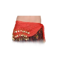 BELLY DANCING COIN SCARF