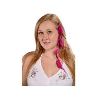 FEATHER HAIR EXTENSION WITH CHAIN