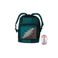 GRATEFUL DEAD BOLT RECYCLED CORDUROY BACKPACK