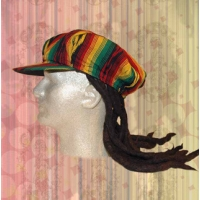 RASTA DREADLOCK APPLEJACK HAT