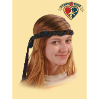 NOW & THEN RECYCLED CORDUROY BRAIDED HEADBAND
