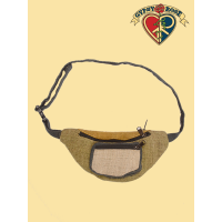 MOJO RISIN VEGETABLE DYED HEMP HIPRIDER BAG