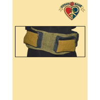 MOJO RISIN' VEGETABLE DYED HEMP 3-POCKET BELT BAG