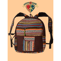 Papa's Got A Brand New Bag Solid Cotton & Gheri Backpack