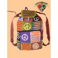 Delta Dawn Cotton Patchwork Backpack