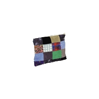 MEDIUM CORDUROY PATCHWORK COIN POUCH