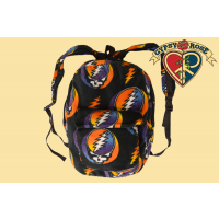 GRATEFUL DEAD CORAL FLEECE STEAL YOUR FACE EXPLORER BAG