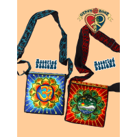 Embroidered Mandala Carryin Bag