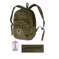 GRATEFUL DEAD CORDUROY TRIBAL STEAL YOUR FACE BACKPACK