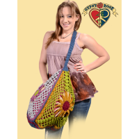 WONDERFUL WOOLLY KNITTED BIG CARRYIN' BAG