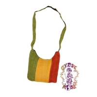 Freedom Rasta Hemp Purse