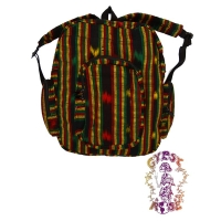 REGGAE AWAKENING RASTA JASPE BACKPACK