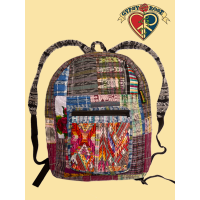 HOP ON THE PEACE TRAIN GUIPILE & CORTE PATCHY BACKPACK