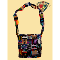 PATCHY WATCHY JASPE MESSENGER BAG