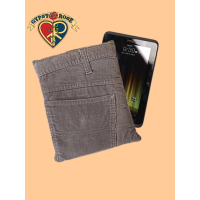 ON THE FLIP SIDE RECYCLED CORDUROY PANTS TABLET CASE
