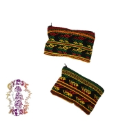 LARGE RASTA COMALAPA COIN PURSE