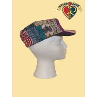 TIME & SPACE CADET PATCHWORK CORTE CAP