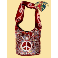 PERPETUAL PEACE AARI EMBROIDERED COTTON BABA BAG
