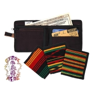 WORKING MAN'S RASTA BI-FOLD WALLET