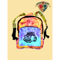Cheshire Cat Tye Dye Backpack