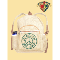 Be Green, Use Hemp, Hemp Backpack