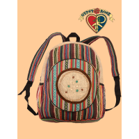 Dreamcatcher Hemp and Cotton Backpack