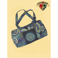 Cosmic Debris Mandala Print Day Tripper Bag