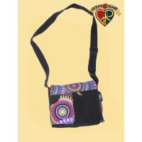 Cosmic Debris Mandala Print Small DJ Bag