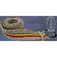 HEMP RASTA BELT