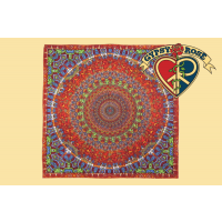 Grateful Dead Dancing Bear Circle Bandana