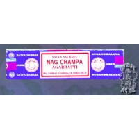 25 MULTI PACK OF 10 GRAM NAG CHAMPA INCENSE