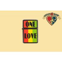ONE LOVE REFILLABLE LIGHTER