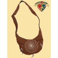Mountain View Veg Dye Hemp Dreamcatcher Purse