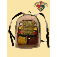 Humbolt County Multi-Color Hemp & Cotton Backpack