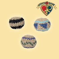 COLORED HEMP HACKY SACK
