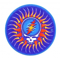 Grateful Dead Steal Your Face Sun In Purple Sticker