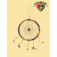 Steer Your Dreams In The Right Direction Giant Dreamcatcher