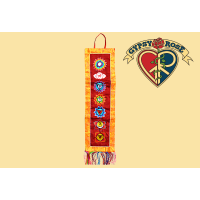 Kundalini Awakening Embroidered & Chakra Wall Hanging