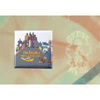 THE BEATLES YELLOW SUBMARINE SQUARE MAGNET