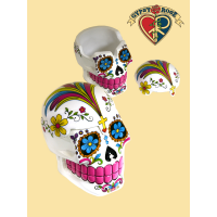 Candy Skull Day Of The Dead Skull Box