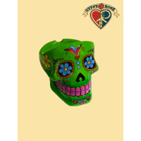 Candy Skull Day Of The Dead Ashtray