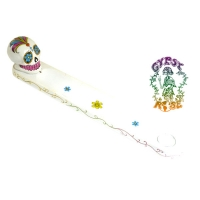 Candy Skull Day Of The Dead Incense Burner