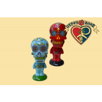 Candy Skull Day Of The Dead Bobble Head