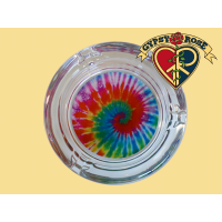 Tie Dye Swirl Ashtray