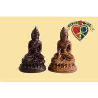 The Path To Nirvana Meditating Buddha Resin Statue