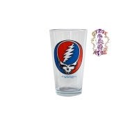 Grateful Dead Steal Your Face Pint Glass