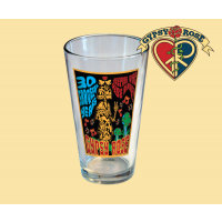 Gypsy Rose 30 Grateful Years Keeping The Vibe Alive Pint Glass