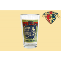 GRATEFUL DEAD BARTON HALL PINT GLASS