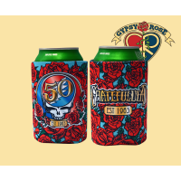 Grateful Dead Steal Your Face Roses 50th Anniversary Huggie