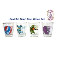 Grateful Dead Graphic Shotglass 4-Pack